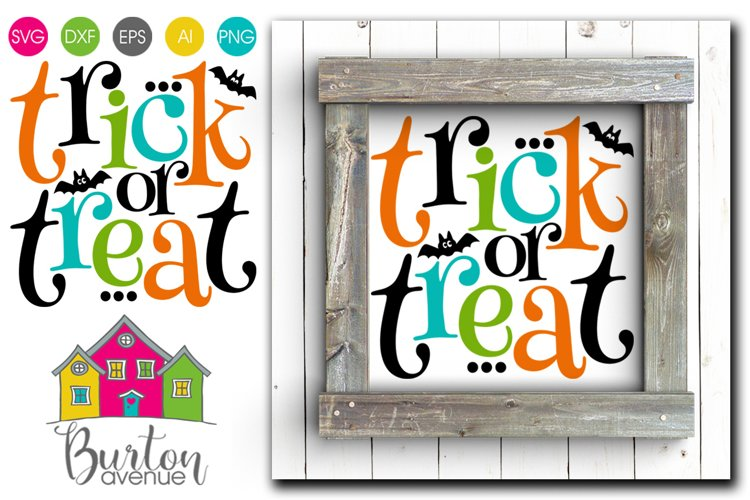 Trick or Treat SVG File example image 1