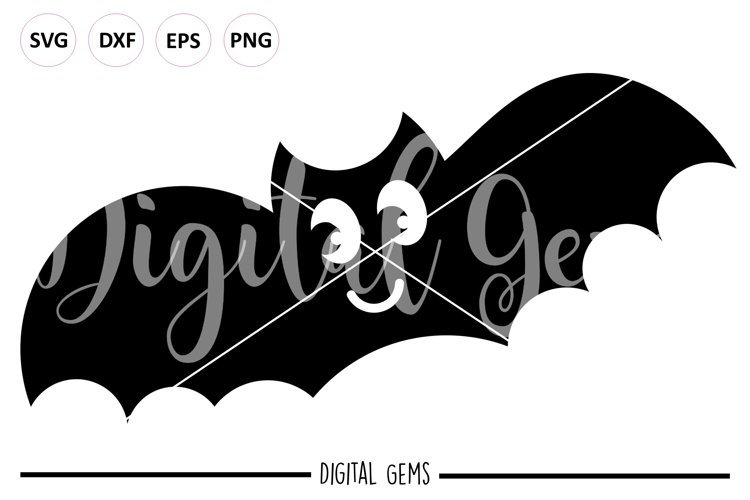 Bat SVG / PNG / EPS / DXF files