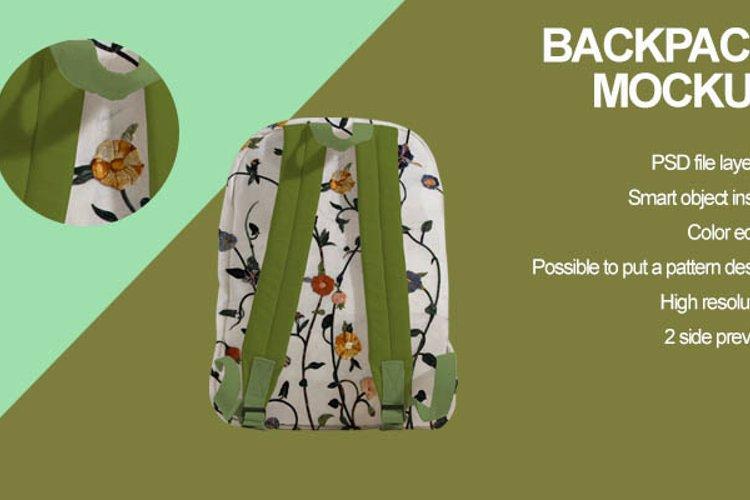 Backpack Mockup example image 1
