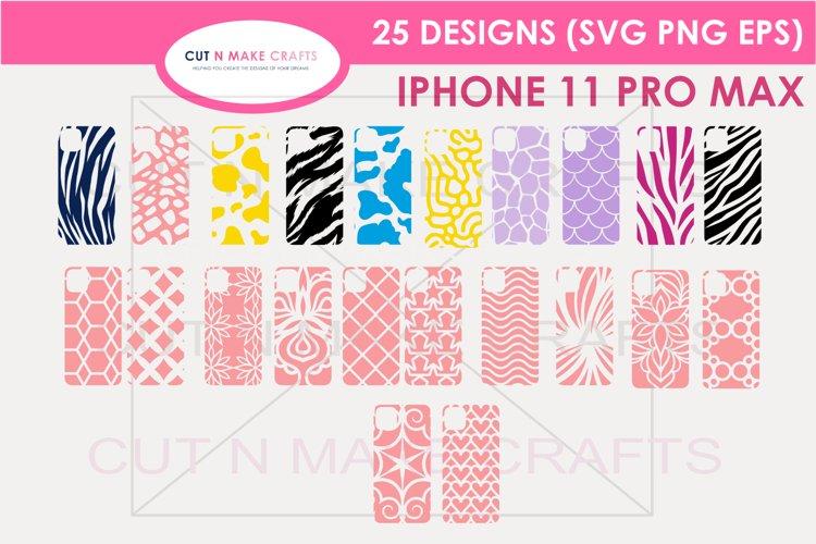 25 iPhone 11 Pro Max  Phone Case Decals example image 1