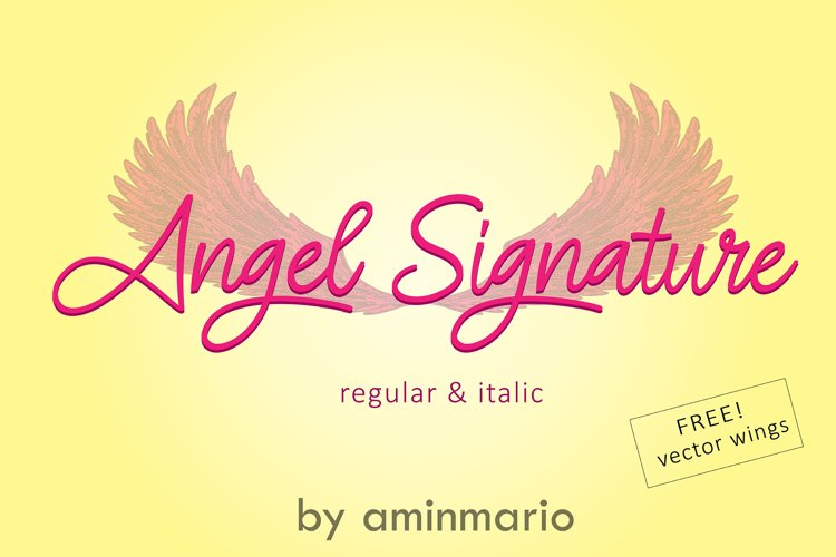ANGEL SIGNATURE example image 1