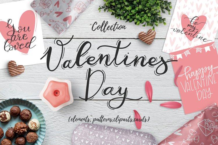 Valentines day - design kit example image 1