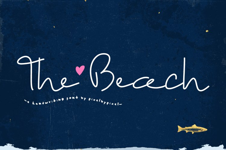 The Beach Font