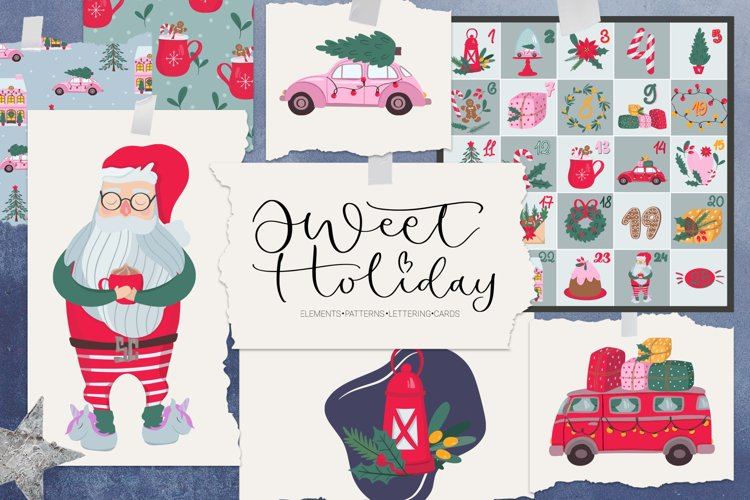 Sweet Holiday. Graphic collection
