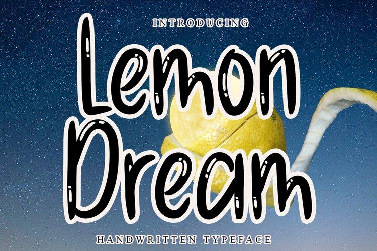 Lemon Dream example image 1