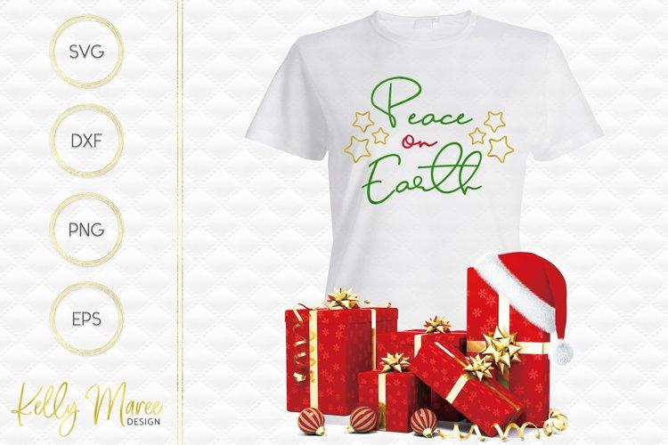 Peace on Earth SVG File