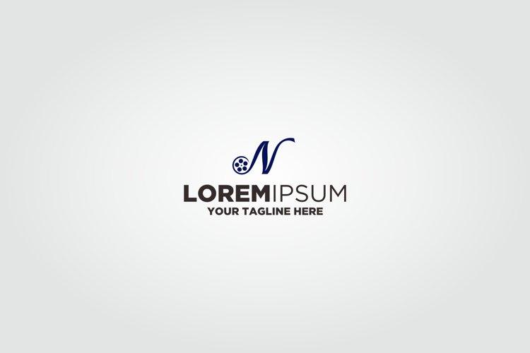 Letter N Roll Film Logo example image 1