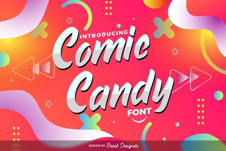 Comic Candy - Script Handwritten Font