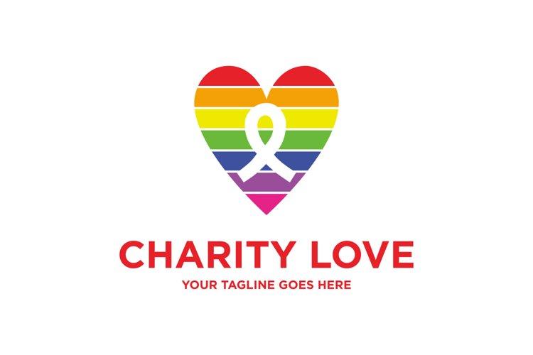 Charity Love Logo example image 1