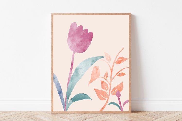 Flower Wall Art, Flower Prints, Flower Wall Decor, Prints example image 1