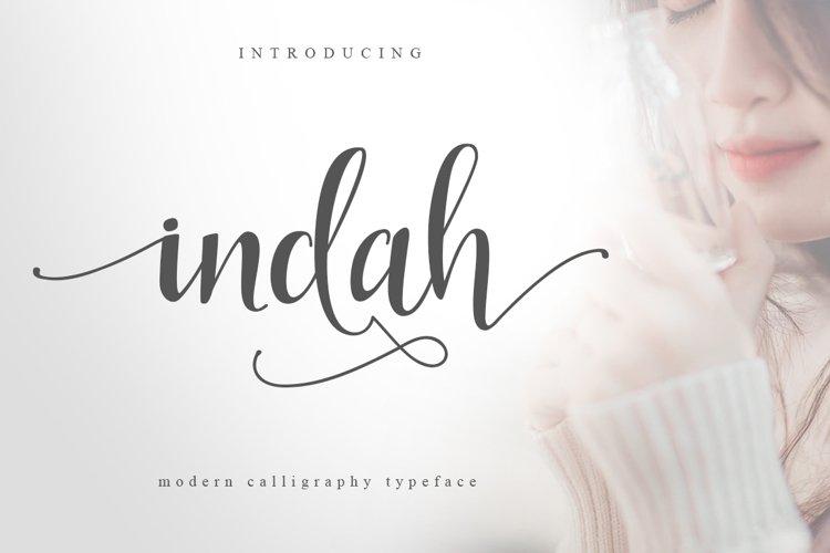 Indah Script example