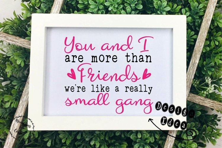 Friends Small Gang SVG