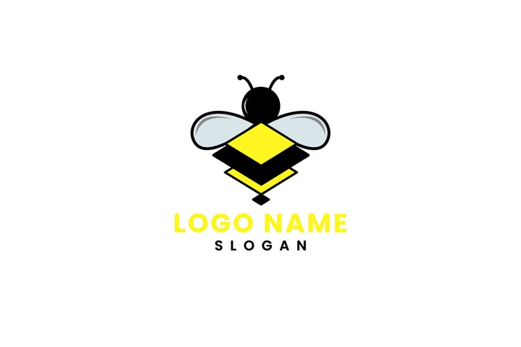 Bees Logo Square example image 1