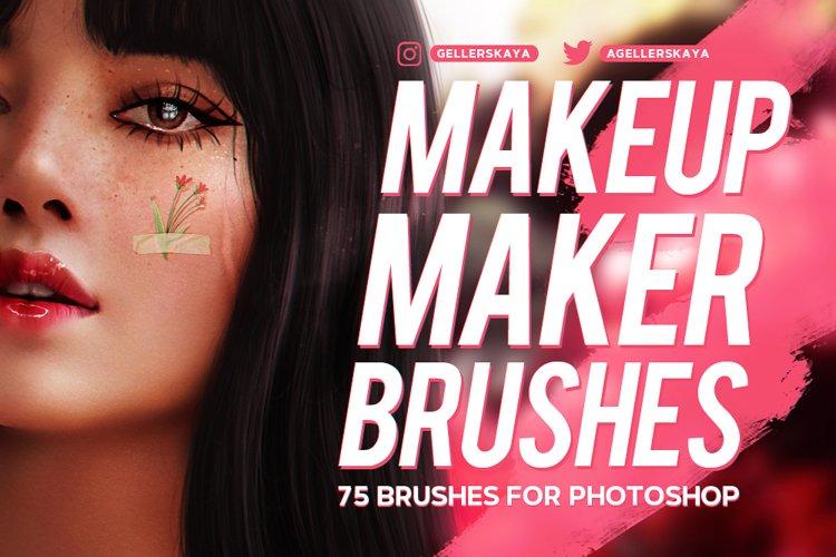Makeup Maker Brushes for Photoshop