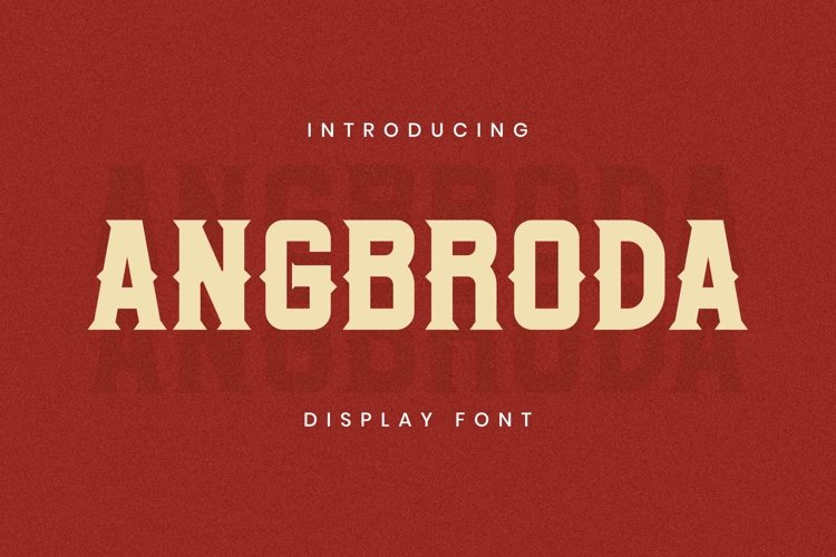 Angrboda Font example image 1