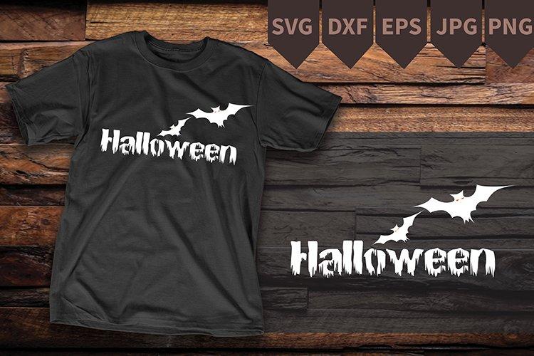 Bat SVG Digital Download ,Halloween graphic example image 1