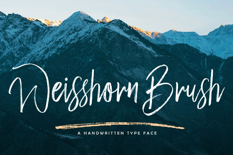 Weisshorn Brush example image 1