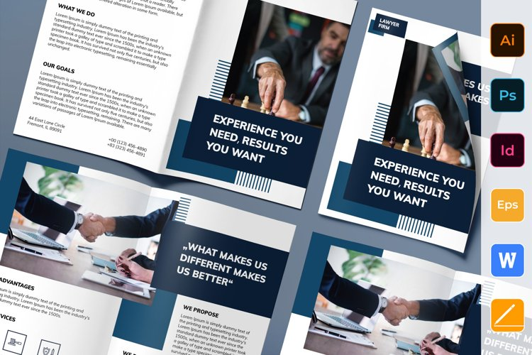 Law Firm Brochure Bifold example image 1