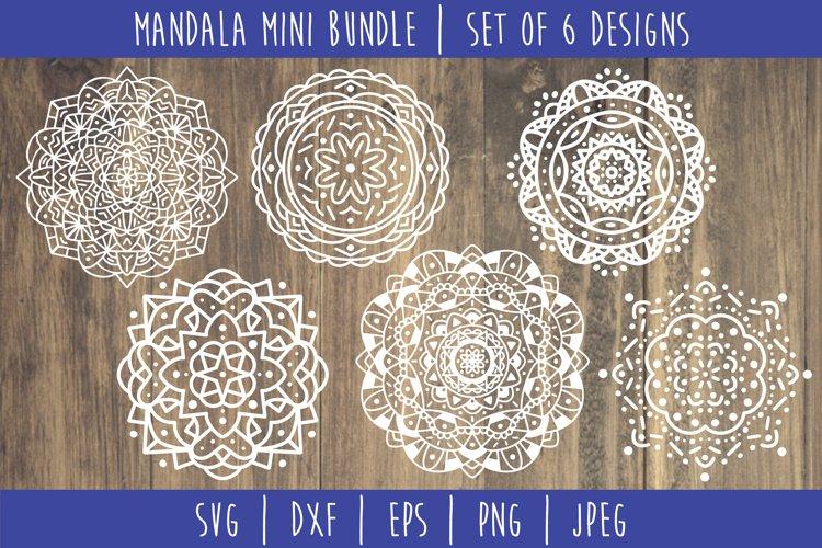Mandala Mini Bundle Set of 6- SVG example
