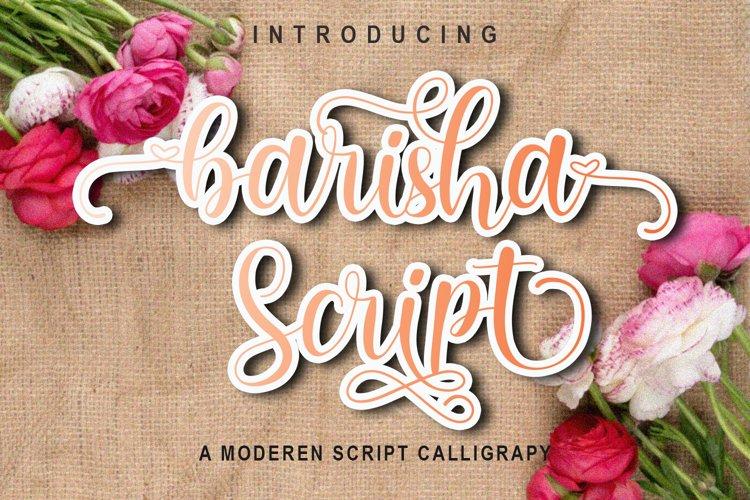 Barisha Script example image 1