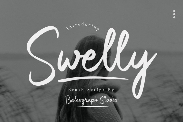 Swelly Brush Script example image 1
