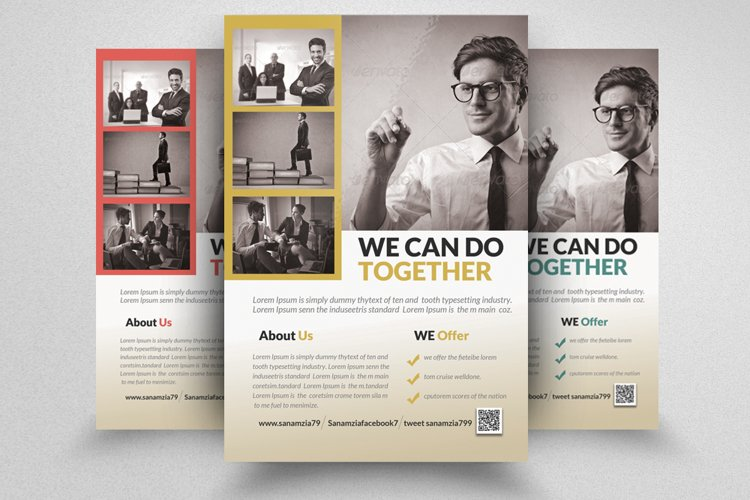 Financial Adviser Flyer example image 1
