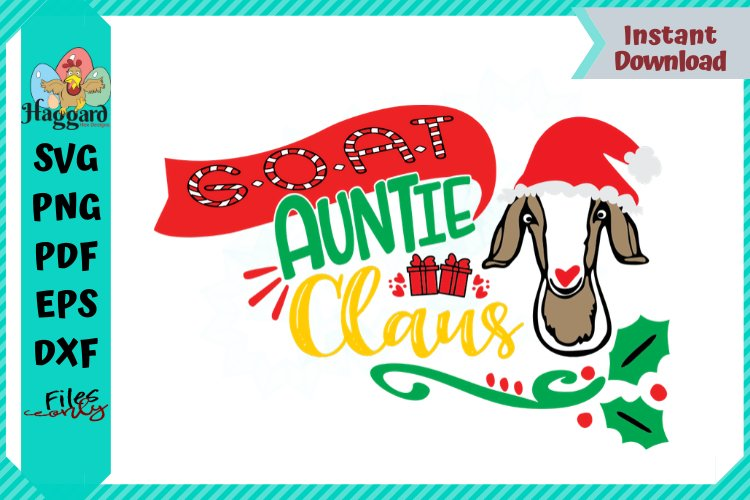 G.O.A.T Auntie Claus example image 1