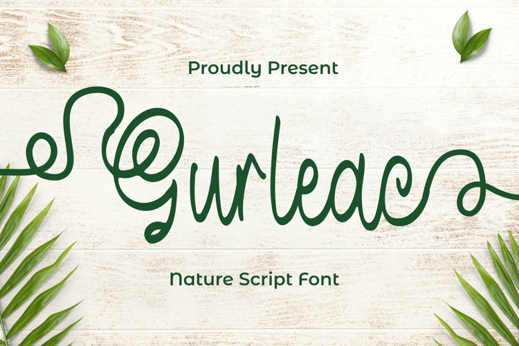 Gurleac Font example image 1