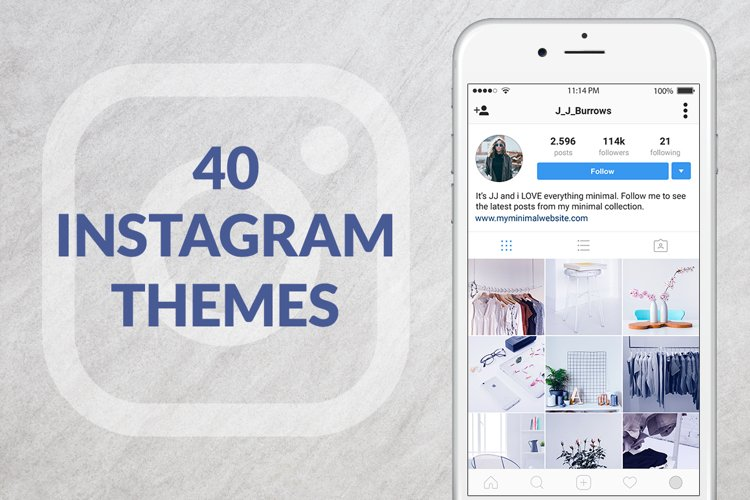 40 Instagram Themes example image 1
