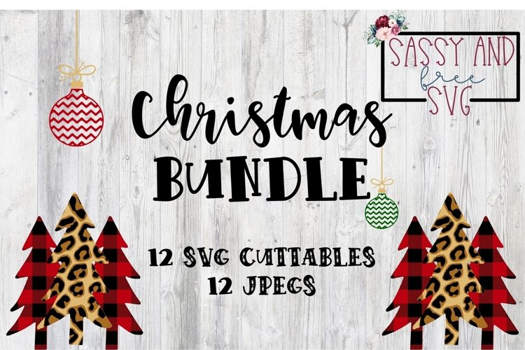 Christmas Designs SVG Bundle example image 1