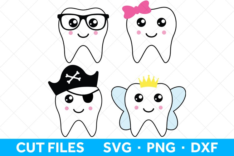 Tooth SVG files, Tooth Fairy SVG files for Tooth Fairy Bags