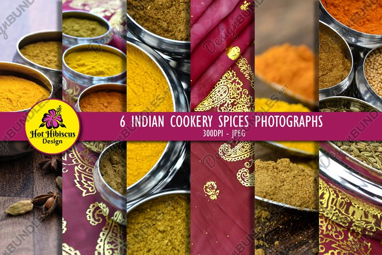 Indian Restaurant Cooking Spices Food Photography