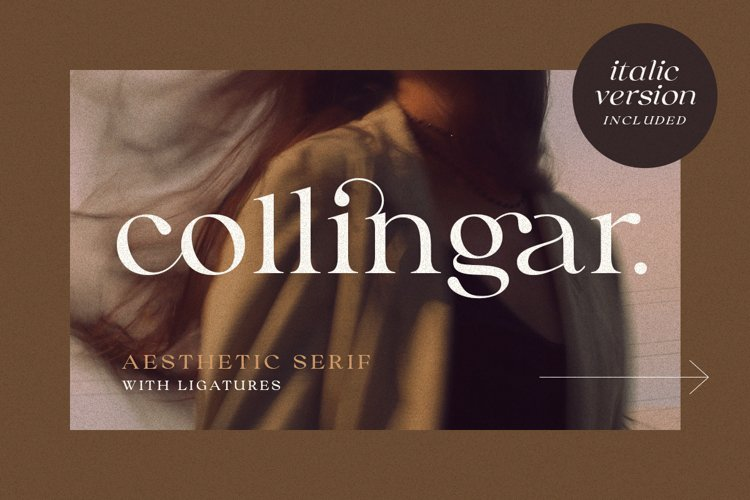 Collingar - Aesthetic Serif example image 1