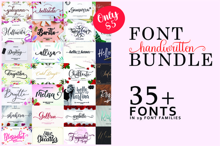 Font Collection Bundle example image 1