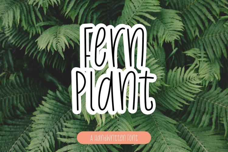 Fern Plant example image 1