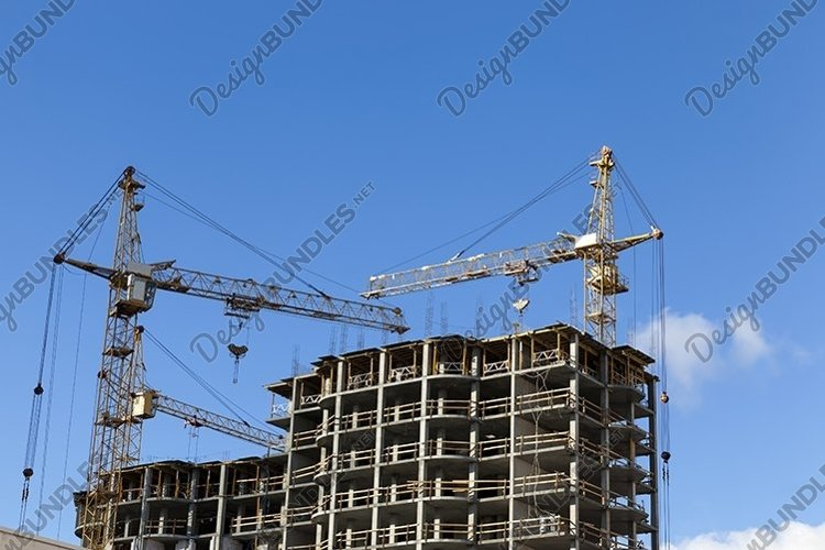 construction crane on a construction site example image 1