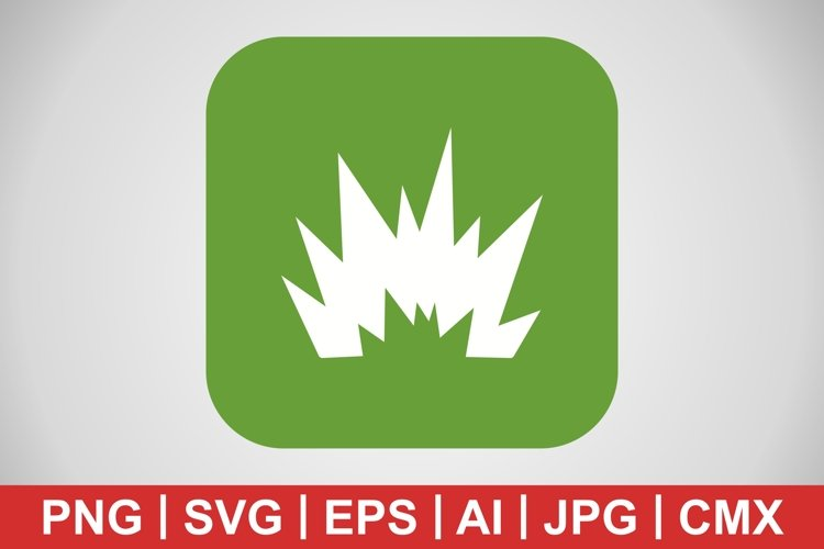 Vector Blast Icon example image 1