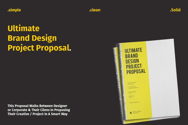 Ultimate Brand Design Proposal example image 1