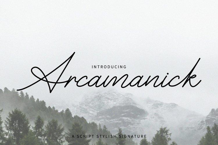 Arcamanick Signature example image 1