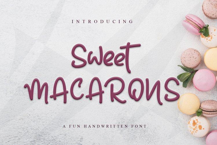 Sweet Macarons example image 1