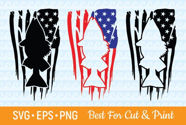 Download Bass Fish Svg Distressed American Flag Usa Fishing Fisherman 352462 Svgs Design Bundles