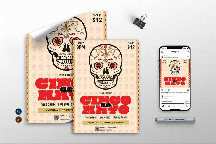 Cinco De Mayo vol.2 - Flyer, Poster, & Instagram RB