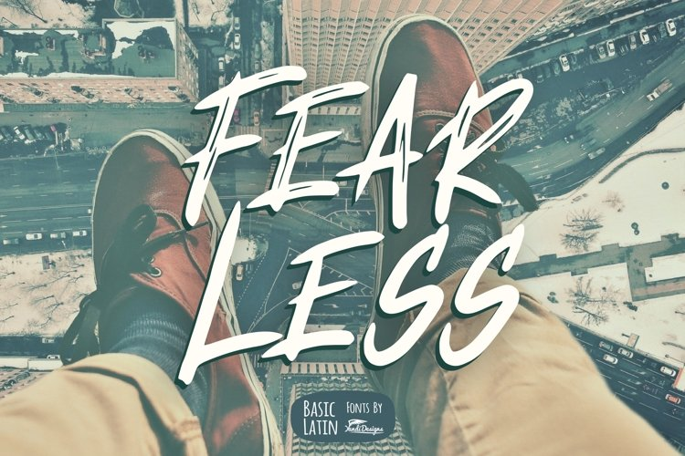 Fearless Font example image 1