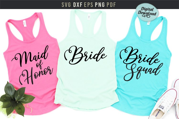 Maid of honor, Bride Squad bridal party,bachelorette party