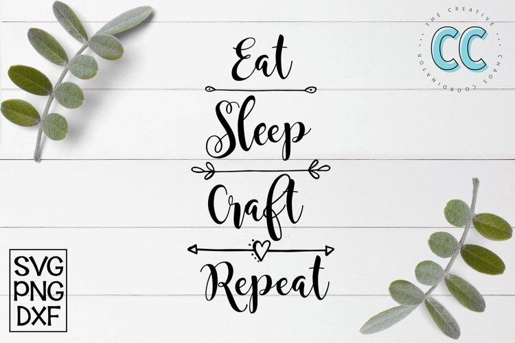 Eat Sleep Craft example image 1