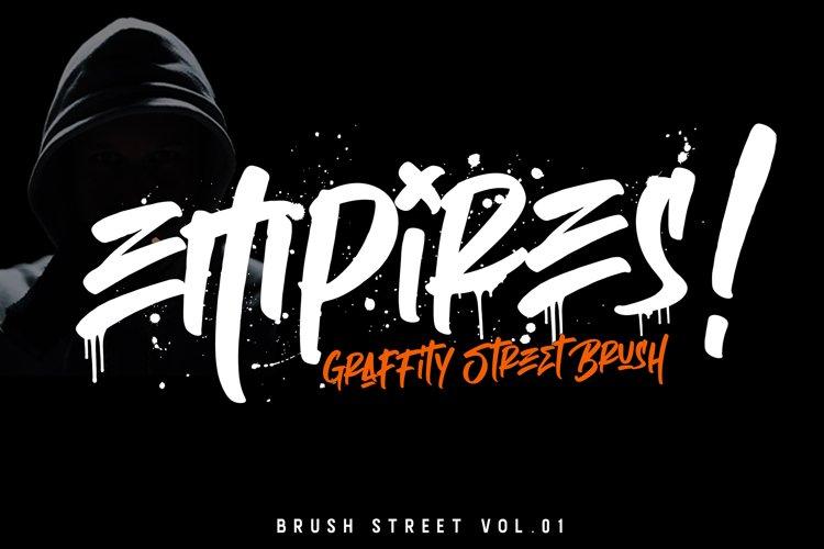 Empires - Graffity Street Brush.Vol 01 example image 1