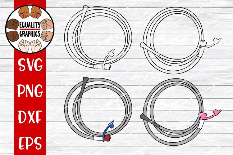 Nasogastric Tube NG Tube Feeding Tube SVG | DXF | PNG