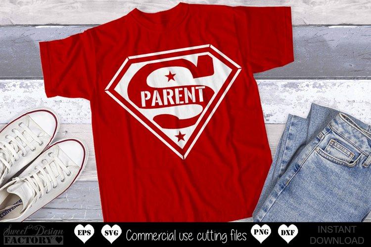 Super parent Svg