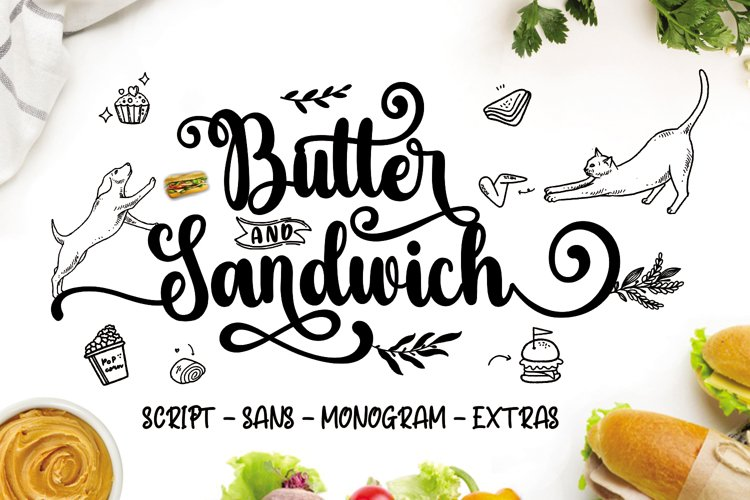 Butter Sandwich example image 1