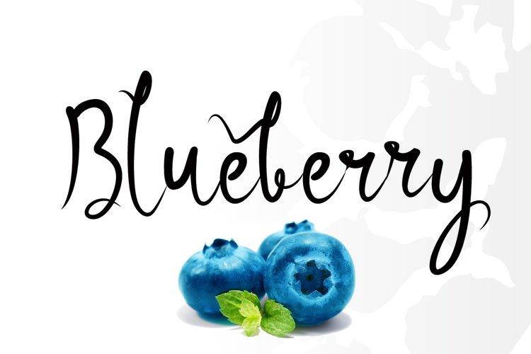 Blueberry example image 1